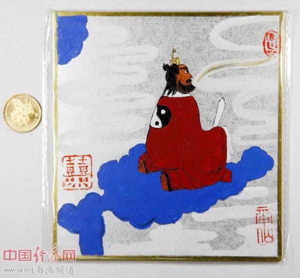 """何�F熹(Anika He)""""中熹何璧掌中宝mini系列""""作品《天师》"""