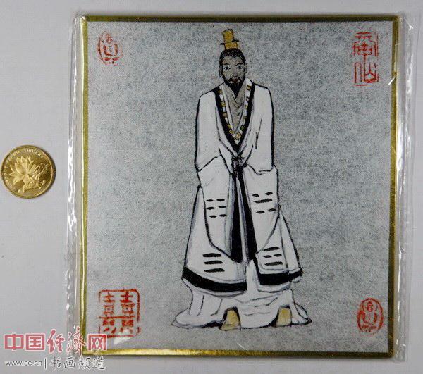 """何�F熹(Anika He)""""中熹何璧掌中宝mini系列""""作品《玉皇大帝》"""