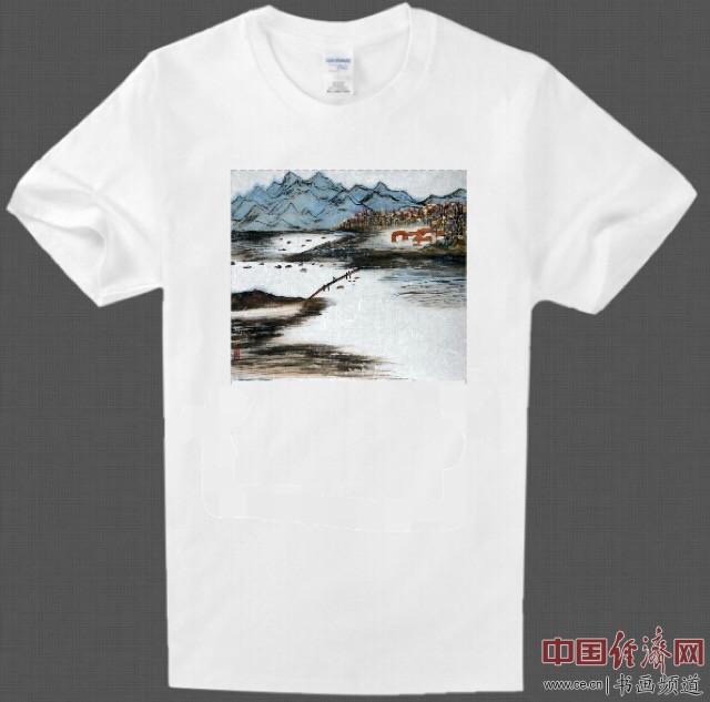 何旻熹Anika He艺术延伸品T恤 Anika He's Artistic T shirt