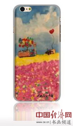 何�F熹艺术延伸品手机壳 Anika He's Artistic Cell Phone Case