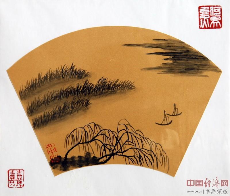 """何�F熹(Anika He)""""中熹何璧风Wind系列""""作品"""
