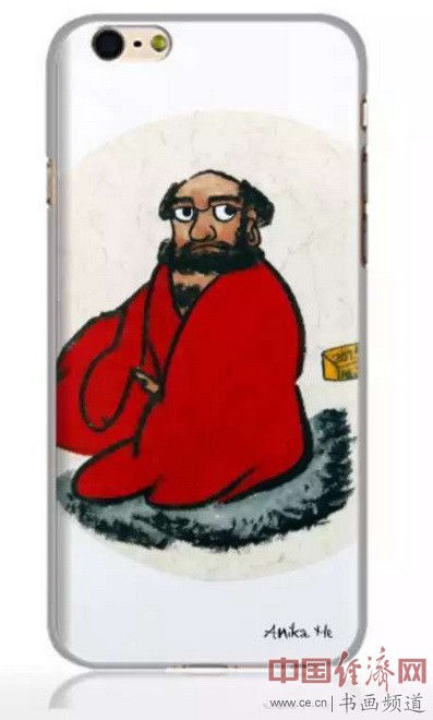 何�F熹艺术延伸品手机壳Anika He's Artistic Cell Phone Case