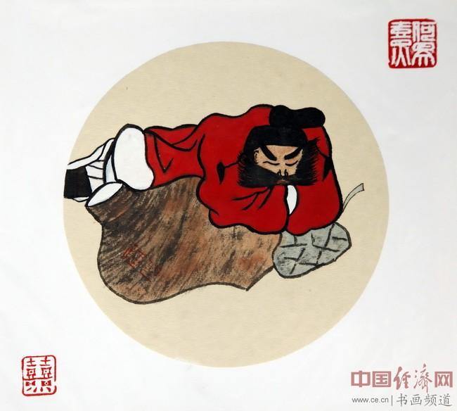 """何�F熹(Anika He)""""中熹何璧方圆Together系列""""作品《众人皆醒、我独睡》"""