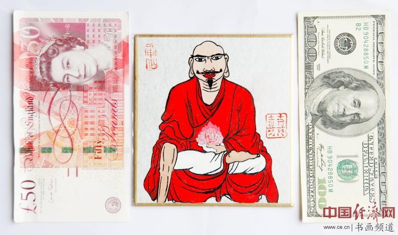 """何�F熹(Anika He)""""中熹何璧掌中宝mini系列""""作品尺寸示意图"""