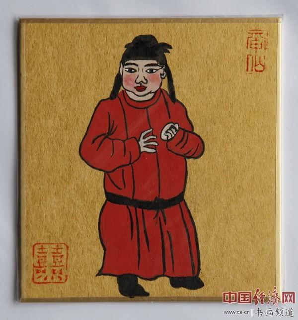 """何�F熹(Anika He)""""中熹何璧掌中宝mini系列""""作品""""大唐风韵系列"""""""