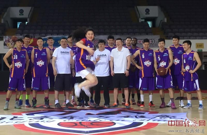何�F熹(Anika He)和首体股份北京东方雄鹿球队 Basketball Team