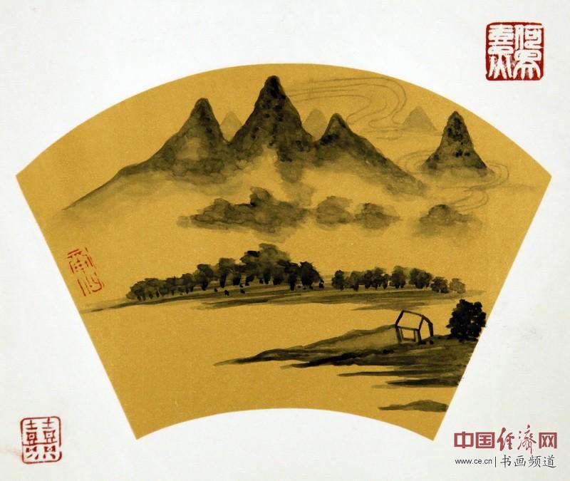 """何�F熹(Anika He)""""中熹何璧风Wind系列""""作品组图"""