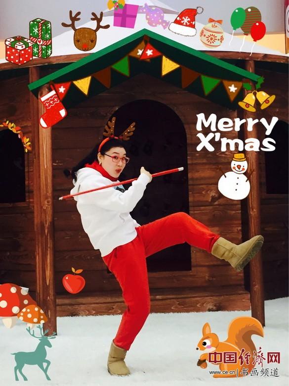 圣诞节快乐 中熹何璧 何�F熹的艺术生活 Anika He's artistic life