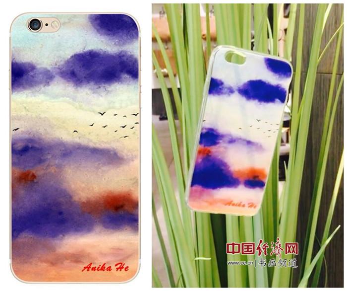 何�F熹艺术延伸品手机壳 Anika He's Artistic Cell Phone Case
