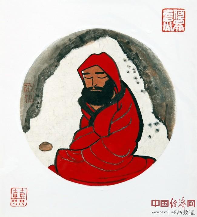 """何�F熹(Anika He)""""中熹何璧方圆Together系列""""达摩作品组图"""