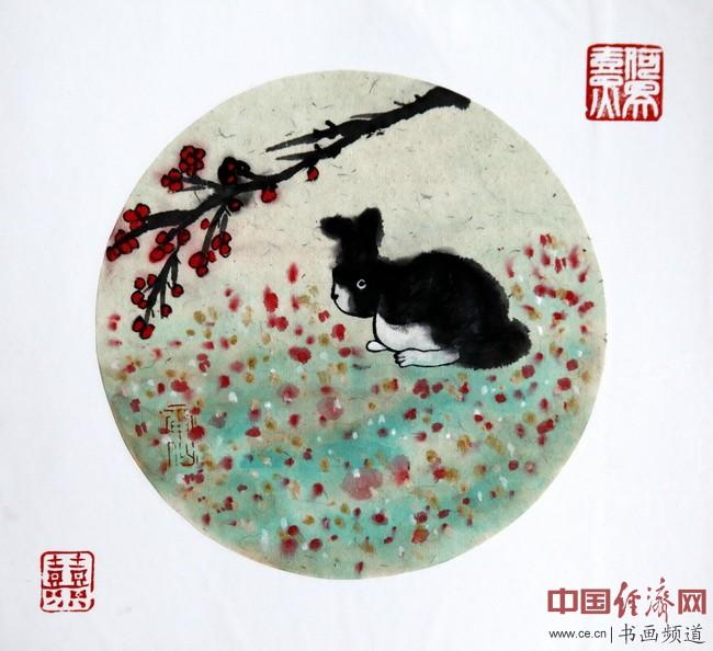 """何�F熹(Anika He)""""中熹何璧方圆Together系列""""兔子作品组图"""