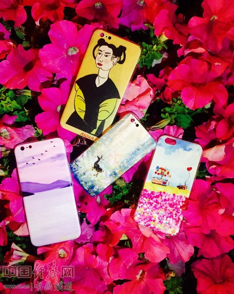 何�F熹Anika He艺术延伸品手机壳 Artistic Cell Phone Case