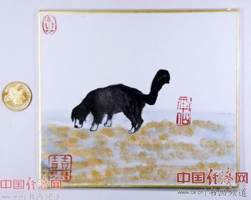 """何�F熹(Anika He)绘画 狗年""""旺旺"""""""