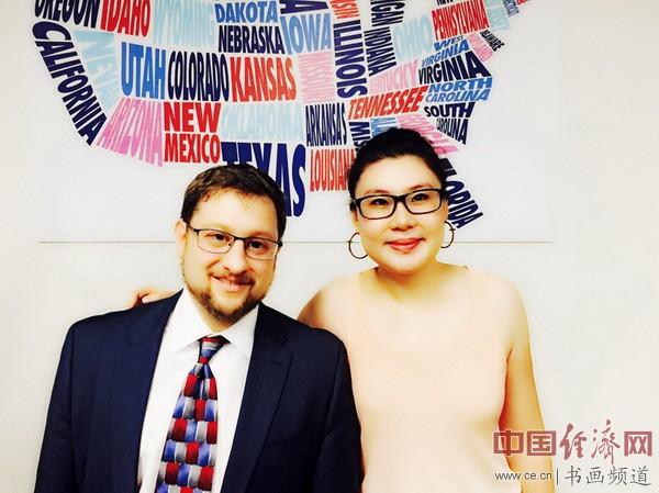 何�F熹(Anika He)和德州大学奥斯汀约翰逊公共事务学院 马佳士 Joshua Eisenman