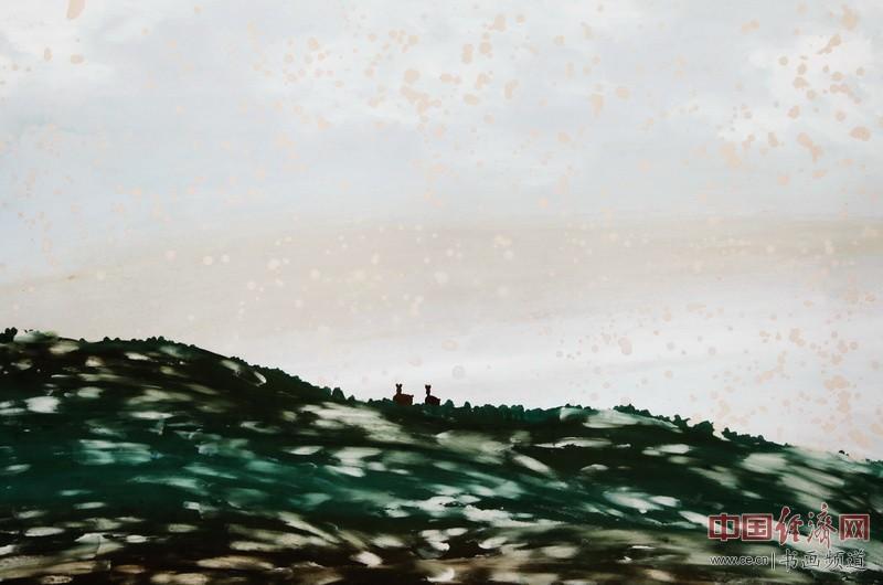 中熹何璧AnikaHe画派创始人何�F熹(Anika He)彩色绘画作品