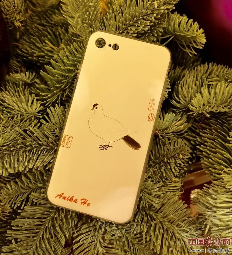 何�F熹Anika He艺术延伸品手机壳《和平鸽》Artistic Cell Phone Case