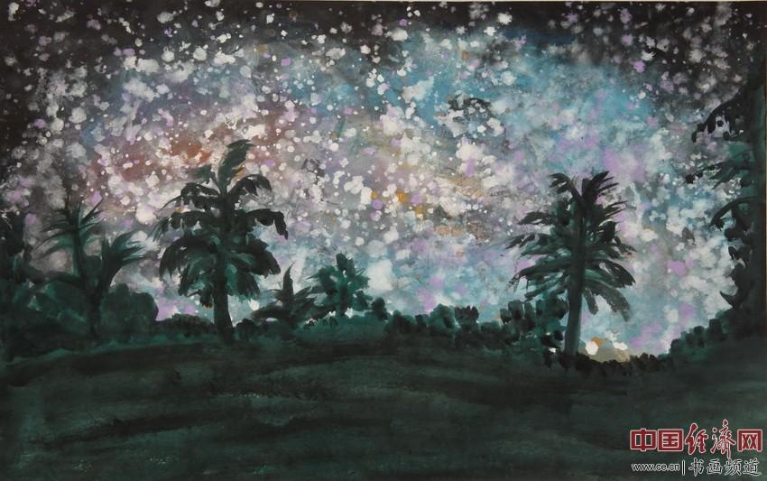 名利如梦幻,无我无挂牵。静坐常思过,心入极乐园。宋汉晓为何�F熹绘画配诗。