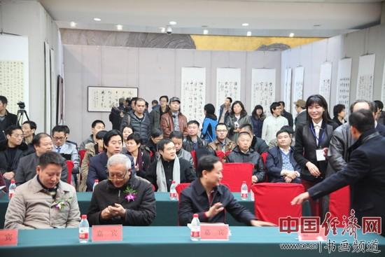 书法展现场 中国经济网记者李冬阳摄