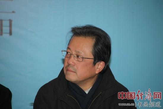 中国文联副主席、中央文史馆副馆长、中国美协副主席冯远出席本次活动李玉生摄