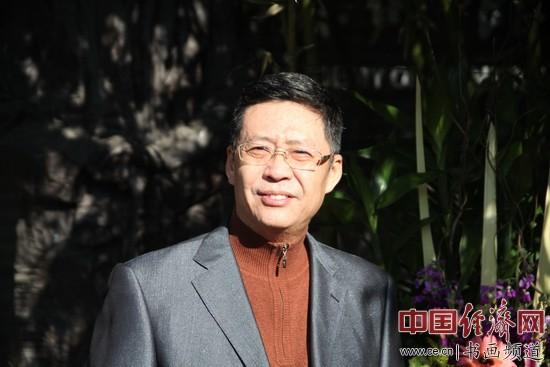 北京书法家协会副秘书长弓超 李玉生摄