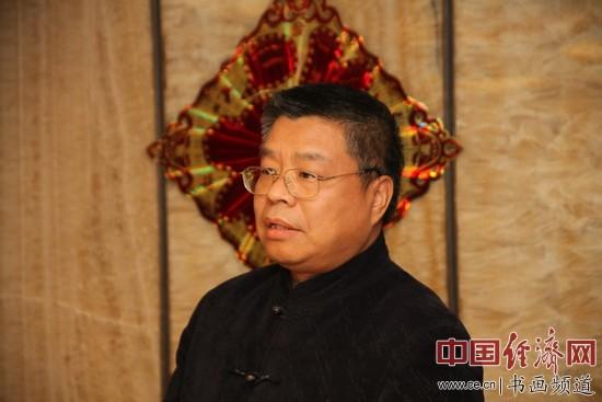 中国书法家协会理事、金融书法家协会主席张铜彦 李玉生摄