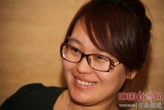刘艺艺术基金会副会长陈瑞女士 李玉生摄