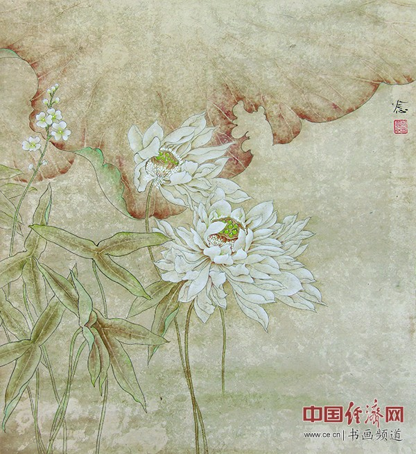 郑念念国画作品欣赏 组图 经济书画