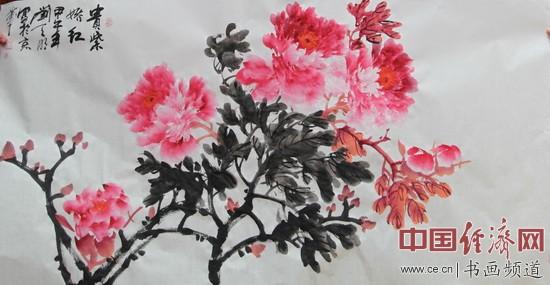 著名国画家刘天明的国画作品
