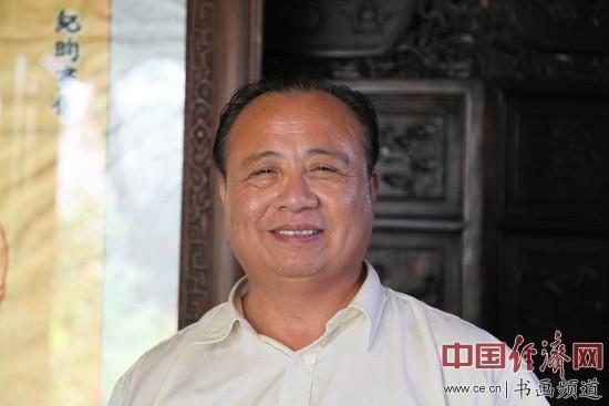 著名国画家刘顺平