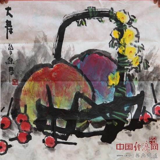 著名女画家曾迎春国画作品