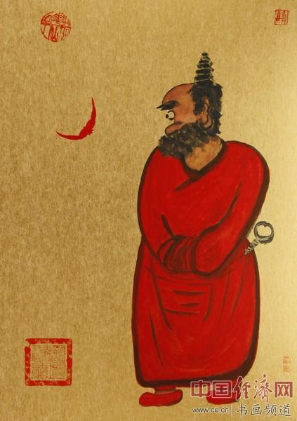 何�F熹(Anika He)绘画《钟馗》由杨小君收藏