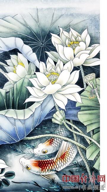 张树森国画作品