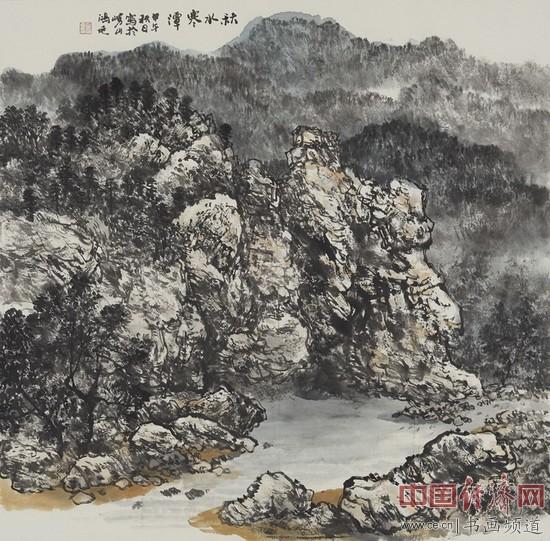 徐鸿延国画