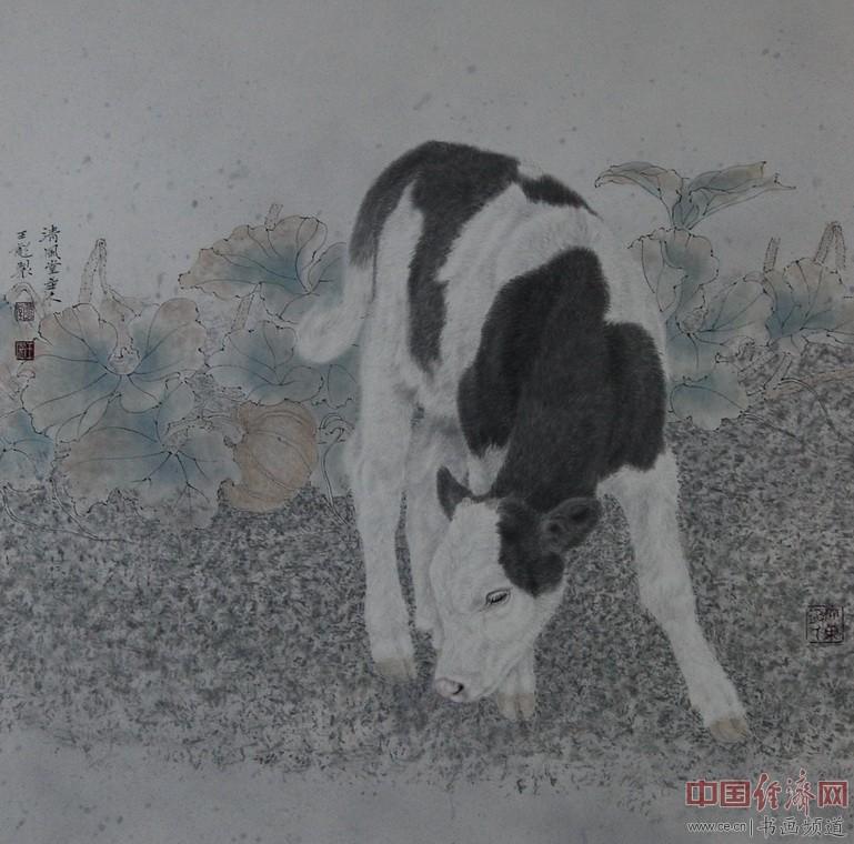 王彪工笔画欣赏(组图)