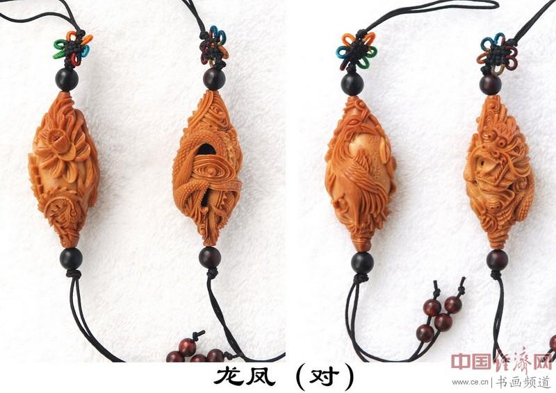 宋水官核雕作品欣赏(组图)