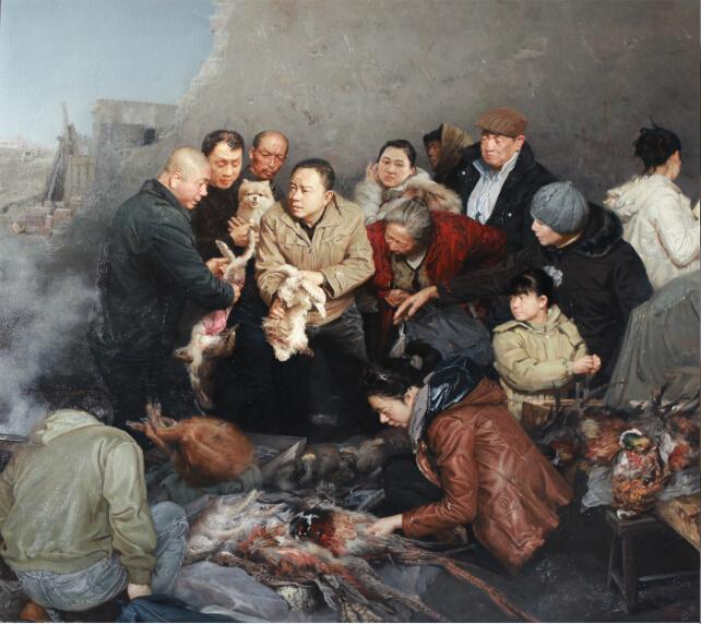 绘画的品格·中国写实油画作品邀请展(2015)即将在临沂红色美术馆开幕