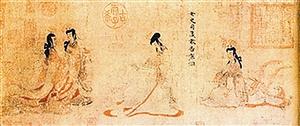 海外收藏中最知名的中国古画:女史箴图