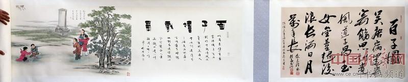 中国禅意国画大家陈俊良工笔画