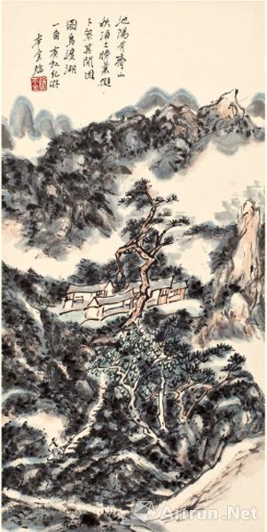纪念黄宾虹大师诞辰150周年虹庐画派徐本全作品展