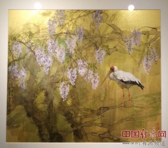 晖烂漫 王明明迎春花鸟画展在琉璃厂路宽画廊开幕 经济书画