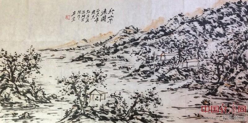 著名画家徐本全山水画
