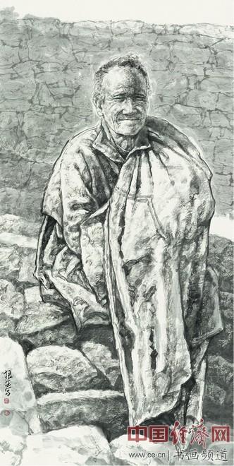 王根生绘画《阳光》70×134cm