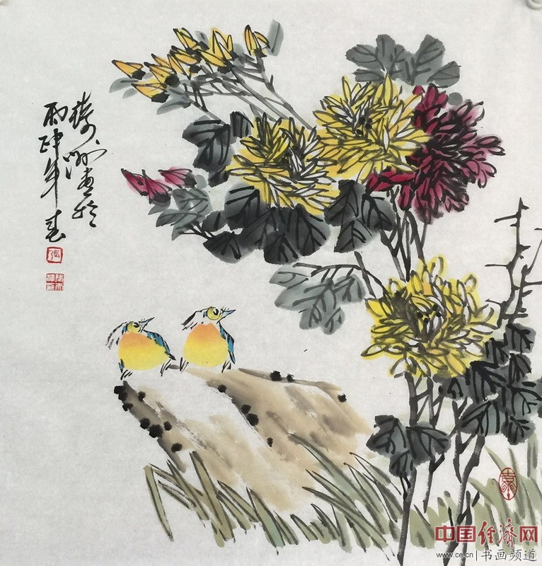 张琦洲国画作品