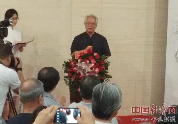 贾宝珉致辞 中国经济网记者李冬阳摄