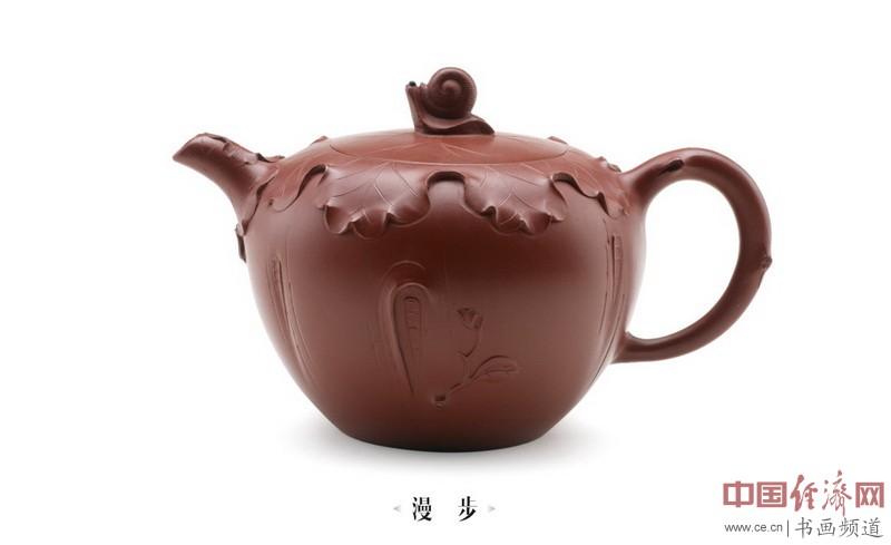 蒋丽娟紫砂壶作品