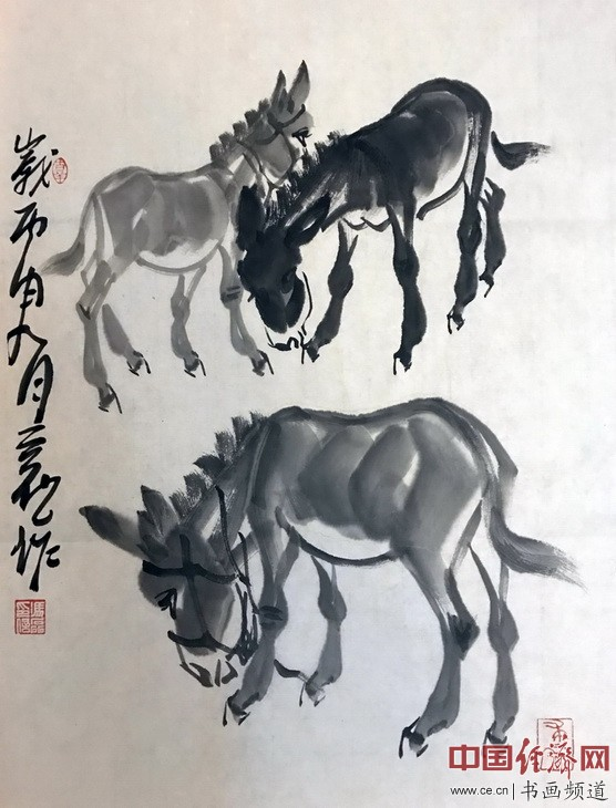 诗人书画家冯磊国画