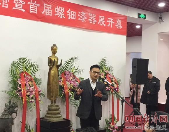 北京正阳美术馆馆长李彦君致辞