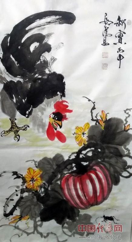 花鸟画家张铁男