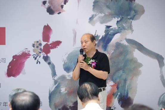著名画家孙晓斌致辞