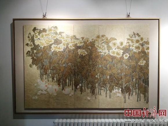 高禹�禄婊�作品 中国经济网记者李冬阳摄